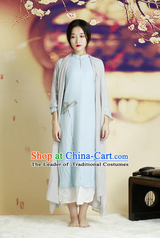 Traditional Chinese Female Costumes Complete Set, Chinese Acient Clothes, Chinese Cheongsam, Tang Suits Blouse Cardigan for Women