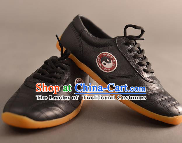 Traditional Chinese Top Kung Fu Shoes Martial Arts Kung Fu Training Tai Chi Taiji Shoes for Men