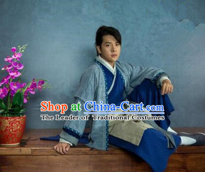 Traditional Chinese Costume Chinese Ancient Men Dress, Ming Dynasty Costume for Men