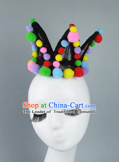 Traditional Handmade Chinese Ancient Classical Hair Accessories Bride Hair Crown for Women