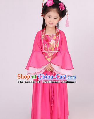 Traditional Ancient Chinese Nobility Lady Costume, Asian Chinese Tang Dynasty Princess Embroidered Clothing for Women