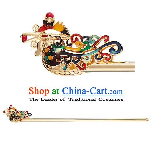 Traditional Korean National Wedding Hair Accessories Bride Palace Cyphers Hairpins, Korean Hanbok Fashion Hair Stick Headwear for Women