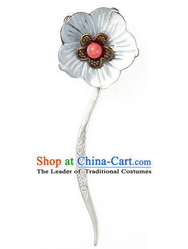 Korean National Wedding Hair Accessories Bride Palace Cyphers Hairpins, Korean Hanbok Fashion Hair Stick Headwear for Women