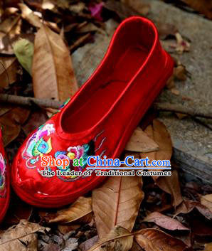 c6432896a6a437 Asian Chinese Traditional Shoes Wedding Embroidered Shoes