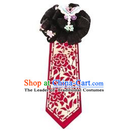 Traditional Korean Hair Accessories Bride Hair Clasp and Wigs, Asian Korean Fashion Wedding Headwear for Kids