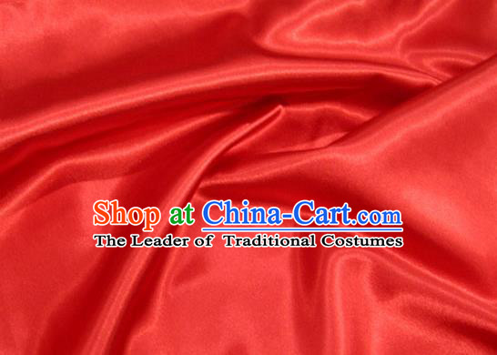 Chinese Traditional Royal Court Red Brocade Xiuhe Suit Fabric Ancient Costume Tang Suit Cheongsam Hanfu Material