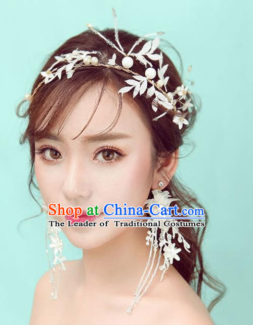 Chinese Traditional Bride Hair Jewelry Accessories Palace Xiuhe Suit Red Beads Tassel Step Shake Wedding Hairpins for Women