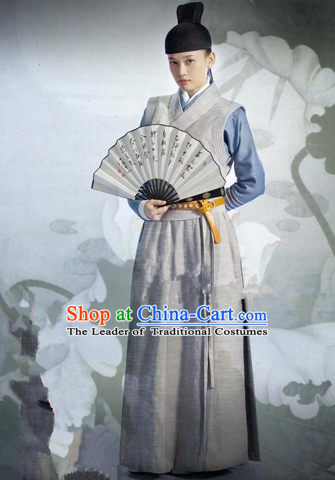 Traditional Ancient Chinese Swordsman Costumes Imperial Bodyguard Dress for Women