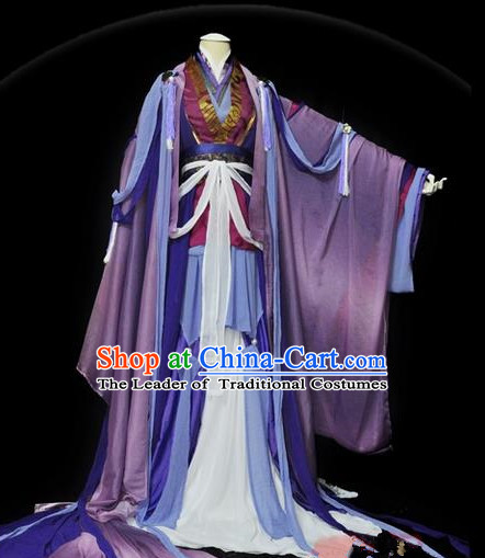 Traditional Asian Chinese Ancient Nobility Childe Costume, Elegant Hanfu White Dress, Chinese Imperial Prince Embroidered Clothing, Chinese Cosplay Swordsman Costumes for Men