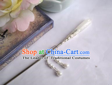 Traditional Handmade Chinese Ancient Classical Hair Accessories Hairpin, Michelia Alba Hair Claws for Women