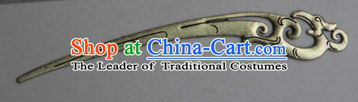 Traditional Chinese Ancient Miao Ethnic Minority Palace Hair Jewelry Accessories, Hmong Handmade Silver Hairpins, Miao Ethnic Jewelry Accessories Hair Claw for Women