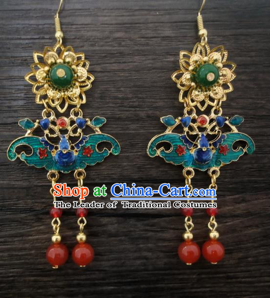 Traditional Handmade Chinese Ancient Classical Earrings for Women