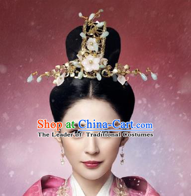Traditional Handmade Chinese Ancient Classical Imperial Emperess Hair Accessories Bride Wedding Hairpin, Hanfu Hair Hairpin for Women