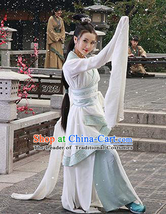 Traditional Ancient Chinese Imperial Emperess Costume Complete Set, Chinese Han Dynasty Dance Dress, Cosplay Chinese Imperial Princess Embroidered Clothing for Women