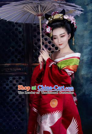 Traditional Ancient Chinese Imperial Emperess Costume, Chinese Tang Dynasty Kimono Dress, Cosplay Chinese Imperial Consort Clothing for Women
