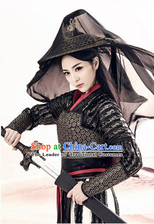 Traditional Ancient Chinese Female Costume, Chinese Tang Dynasty Swordswoman Dress, Cosplay Chinese Chivalrous Swordsman Clothing for Women