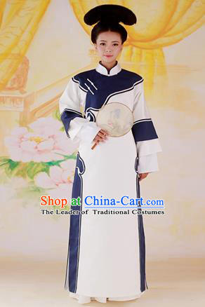 Traditional Ancient Chinese Imperial Consort Costume, Chinese Qing Dynasty Manchu Palace Lady Dress, Cosplay Chinese Mandchous Imperial Concubine Clothing for Women