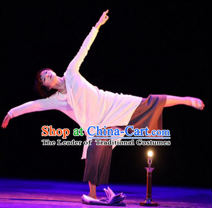 Traditional Modern Dancing Compere Costume, Women Opening Classic Chorus Singing Group Dance Dress, Modern Dance Classic Dance Dress for Women