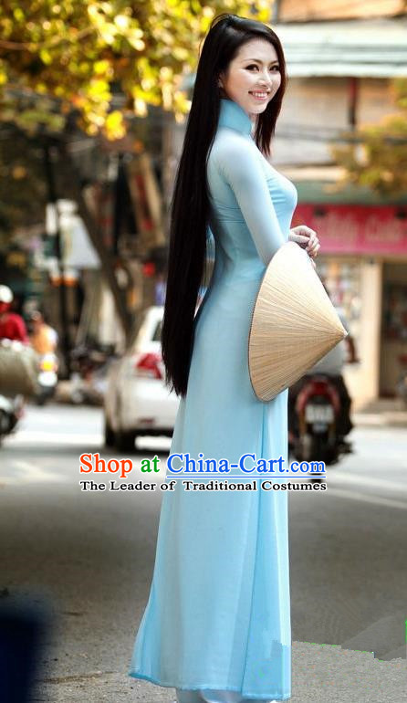 Vietnamese Trational Dress Vietnam Ao Dai Cheongsam Clothing