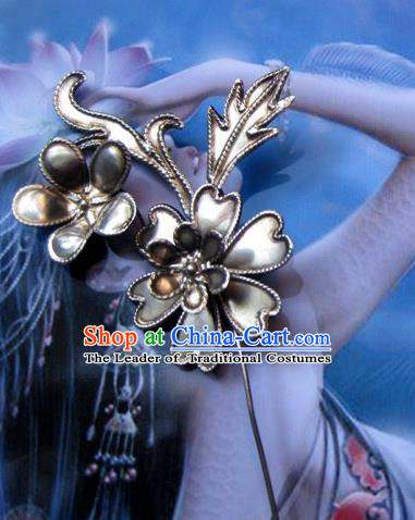 Traditional Chinese Ancient Classical Handmade Hair Accessories Headwear Hairpin for Women