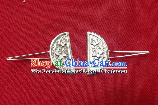Traditional Chinese Ancient Classical Handmade Hair Accessories Hanfu Headwear Palace Tang Dynasty Princess Bride Little Hairpin for Women