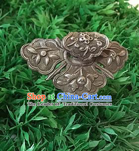 Traditional Handmade Chinese Ancient Classical Hair Accessories Barrettes Hairpins, Sliver Hair Sticks Jewellery for Women
