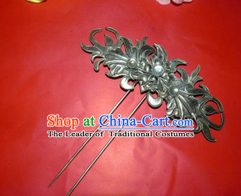 Traditional Handmade Chinese Ancient Classical Hair Accessories Barrettes Hanfu Hairpins, Palace Lady Step Shake Hair Sticks Hair Jewellery for Women
