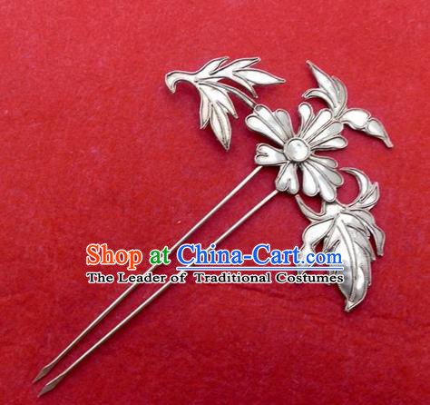 Traditional Handmade Chinese Ancient Classical Hair Accessories Barrettes Hanfu Hairpins, Imperial Step Shake Hair Sticks Hair Jewellery for Women