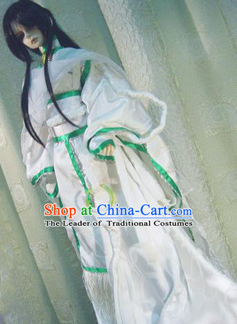 Top Grade Traditional China Ancient Young Lady Swordsman Costumes Complete Set, China Ancient Cosplay Princess Dress Clothing for Adults and Kids