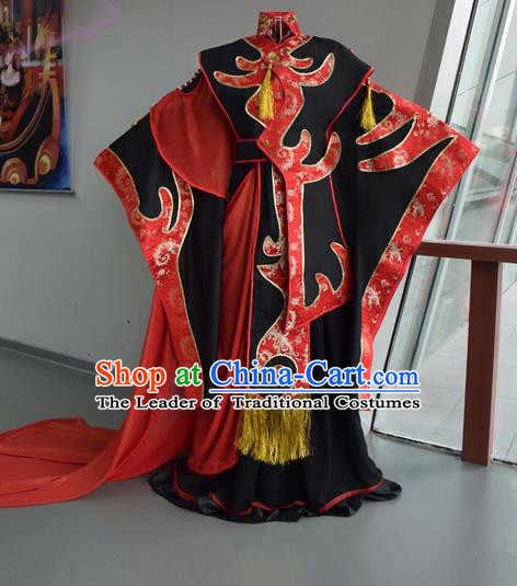 Top Grade Traditional China Ancient Cosplay Swordsman Prince Costumes, China Ancient Hanfu Wedding Clothing for Men