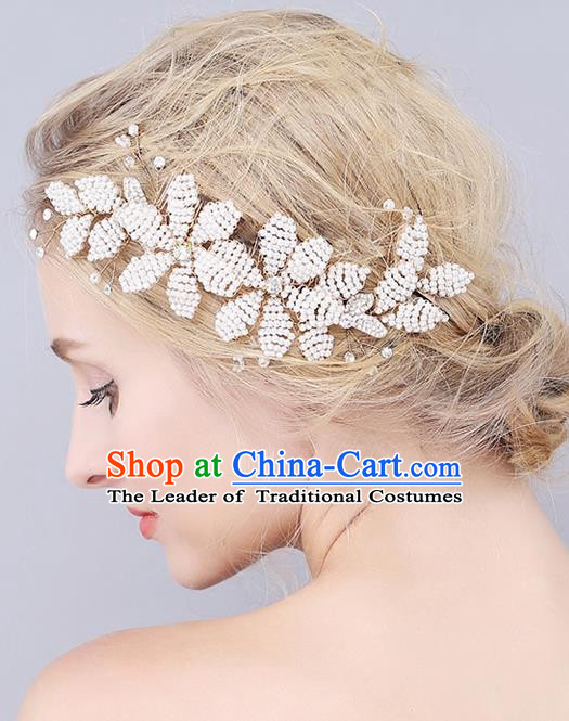 Top Grade Handmade Wedding Bride Hair Accessories Crystal Hair Clasp, Traditional Princess Baroque Hair Stick Headpiece for Women
