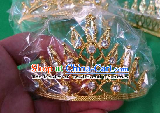 Traditional Traditional Thailand Hair Accessories, Southeast Asia Thai Dai Nationality Royal Crown for Women