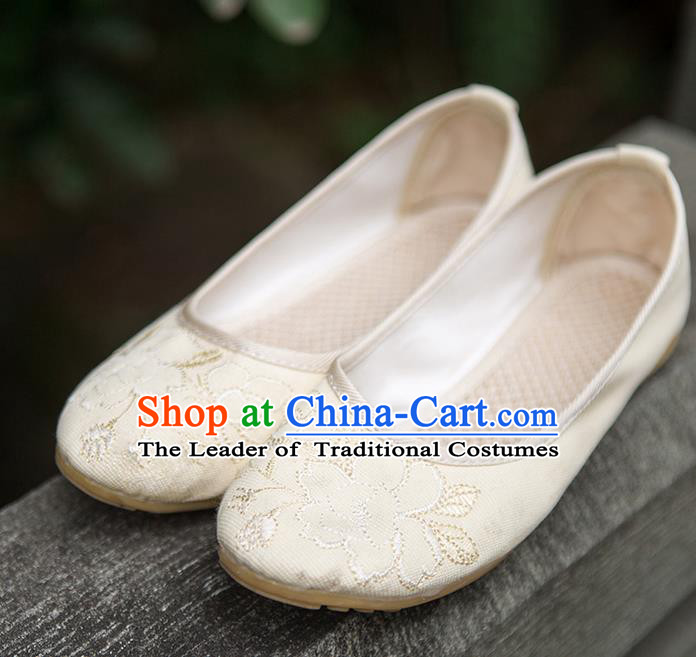 Traditional Chinese Shoes Wedding Shoes Hanfu Shoes Embroidered Princess Shoes for Women