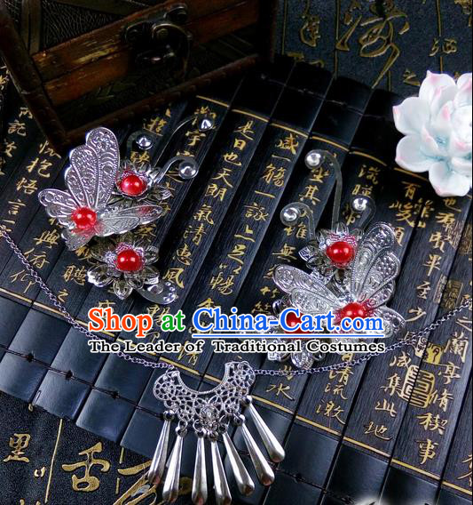 Traditional Handmade Chinese Ancient Classical Jewelry Accessories Necklace for Women