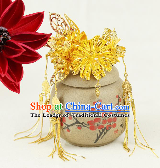 Asian Chinese Ancient Style Jewelry Accessories Wedding Tassel Bracelet for Women