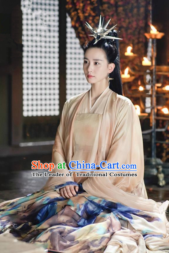 Ancient Chinese Costume Chinese Style Wedding Dress Northern and Southern Dynasties ancient palace Lady clothing