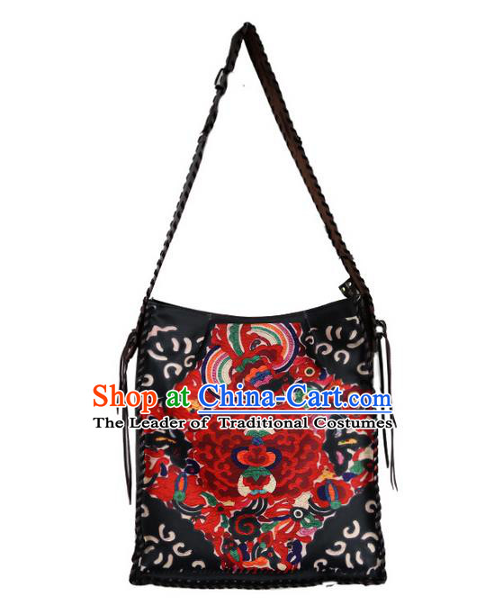 Traditional Chinese Accessories National Embroidered Bags for Women