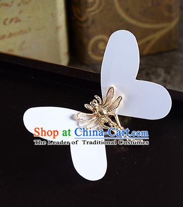 Traditional Handmade Chinese Ancient Classical Wedding Hair Accessories Bride Butterfly Hair Stick, China Princess Hairpins Headwear for Women