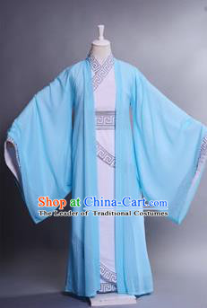 Traditional Chinese Han Dynasty Nobility Childe Hanfu Costume Curve Bottom, China Ancient Scholar Embroidery Clothing for Men