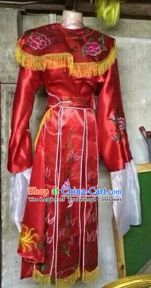 Traditional Beijing Opera Hua Tan Costume, Ancient Chinese Young Women Diva Dress Clothing