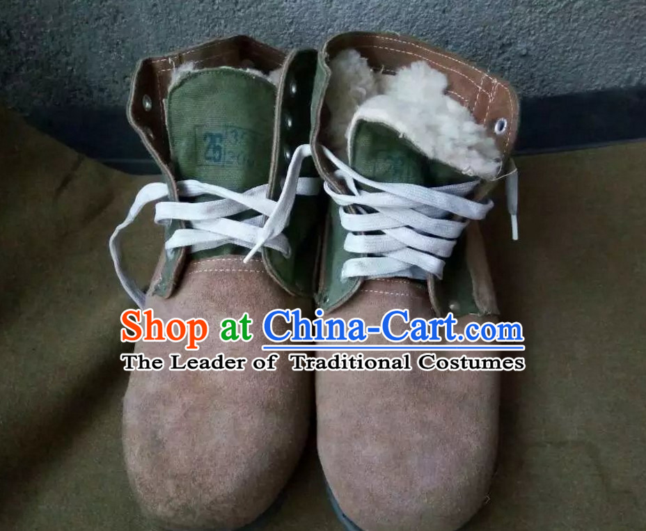 Traditional Chinese Classical Style Handmade Farmer Old Shoes