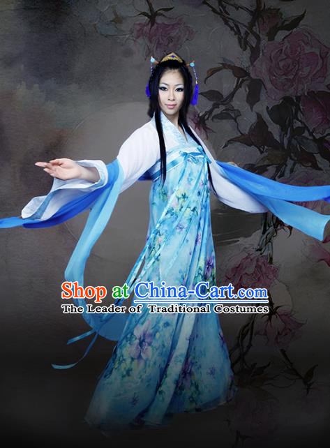 Traditional Chinese Tang Dynasty Princess Costume, China Ancient Elegant Hanfu Imperial Consort Dress Clothing