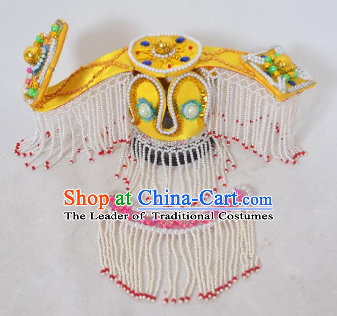 Traditional Handmade Chinese Ancient Classical Ruyi Hair Accessories, China Ancient Royal Empress Hat Hair Fascinators Tuinga for Women