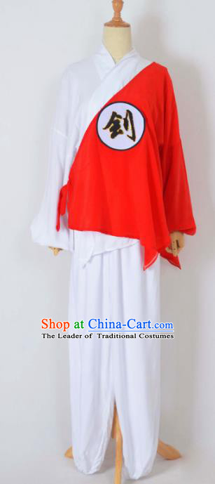 Traditional Chinese Professional Peking Opera Prisoner Costume, China Beijing Opera Shaoxing Opera Prison Uniform