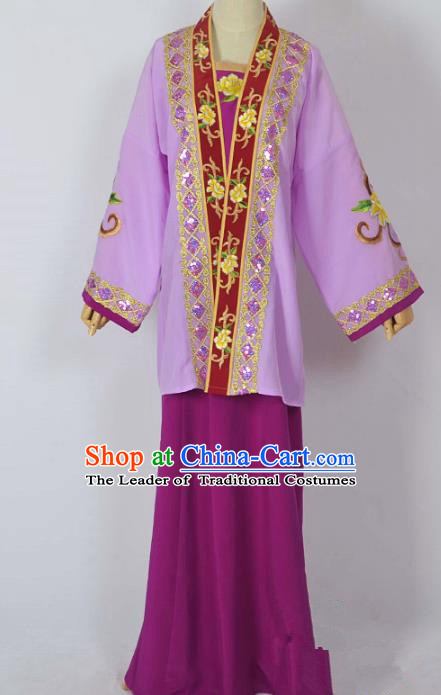 Traditional Chinese Professional Peking Opera Imperial Dowager Costume, China Beijing Opera Old Women Embroidery Dress Clothing