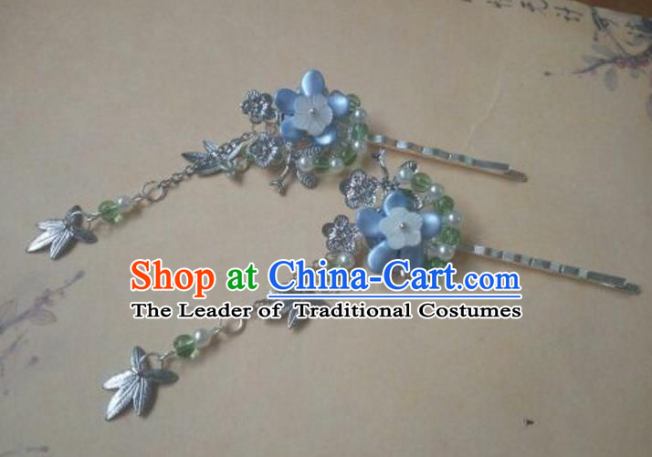 Traditional Handmade Chinese Ancient Classical Palace Lady Hair Accessories Hairpins for Women