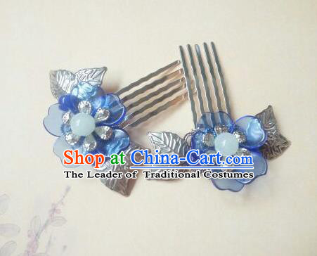 Traditional Handmade Chinese Ancient Classical Hair Accessories Hairpin Headwear Palace Lady Hair Comb for Women