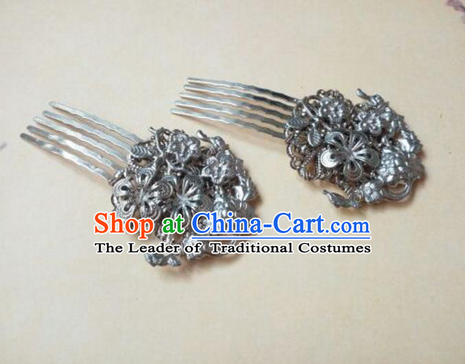 Traditional Handmade Chinese Ancient Classical Hair Accessories Hair Comb for Women