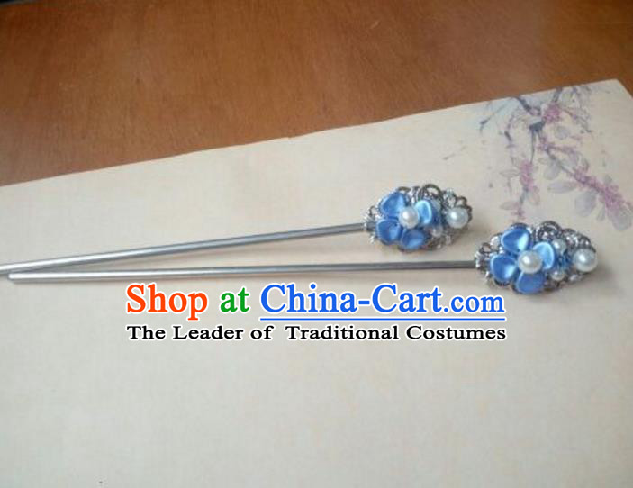 Traditional Handmade Chinese Ancient Classical Hair Accessories Hairpins for Women