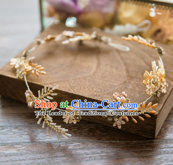Top Grade Handmade Classical Hair Accessories Baroque Style Princess Hair Clasp Headwear for Women